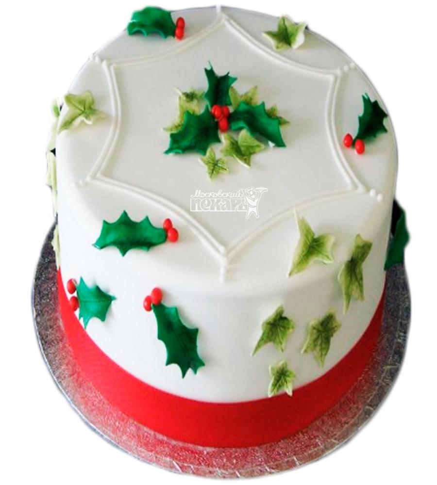 №3404 Торт на Рождество