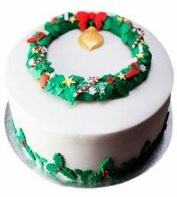 №3406 Торт на Рождество