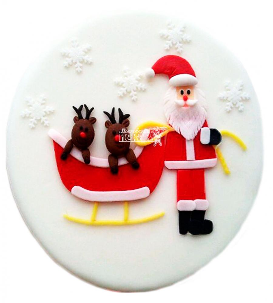 №3408 Торт на Рождество