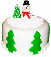 №3416 Торт на Рождество