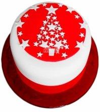 №3421 Торт на Рождество