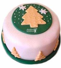 №3422 Торт на Рождество