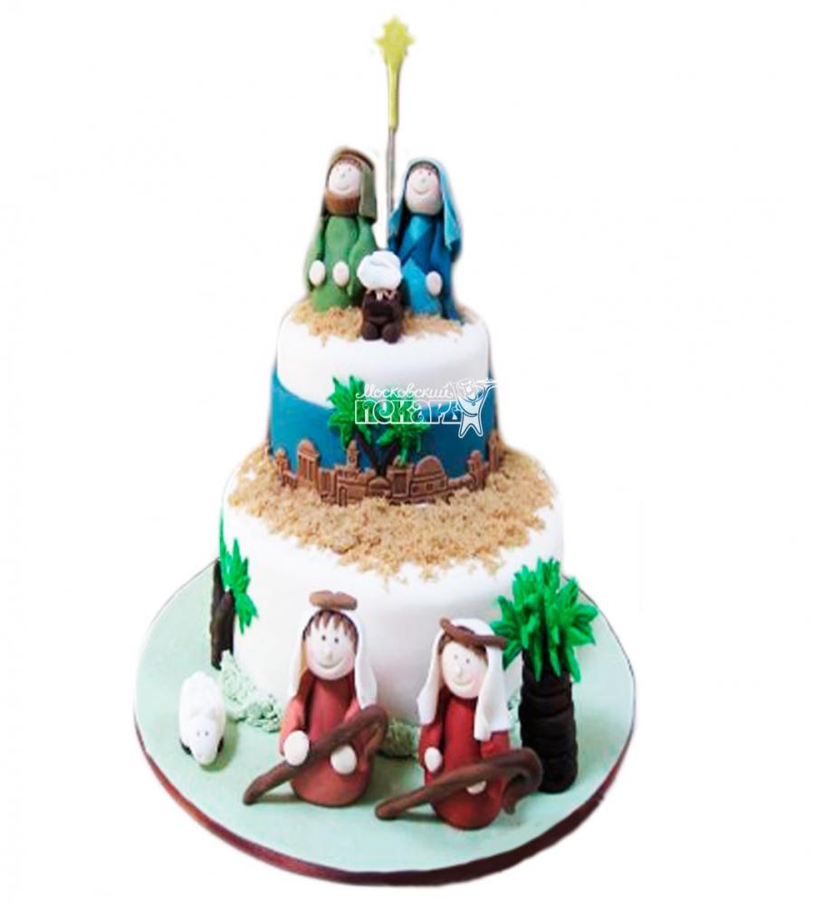 №3425 Торт на Рождество