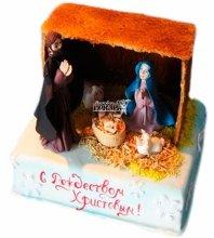 №3432 Торт на Рождество