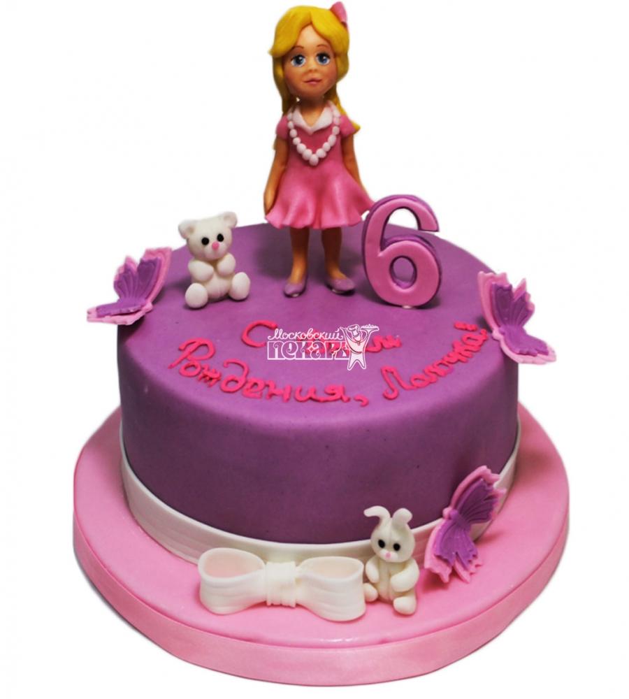 №3438 Торт для девочки