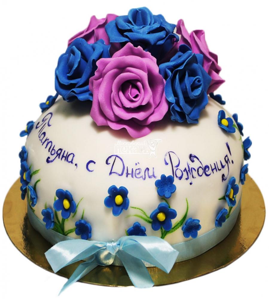 №3442 Торт цветы