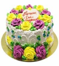№3448 Торт с цветами