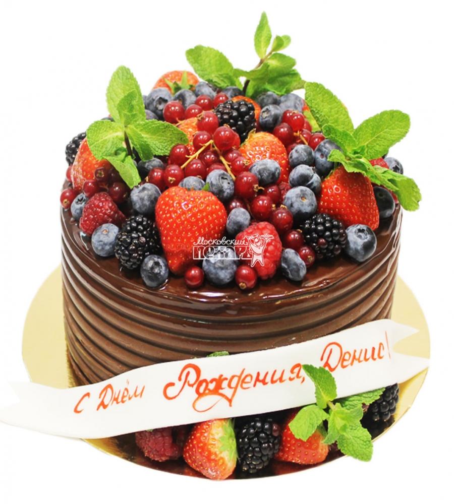 №3449 Торт с ягодами