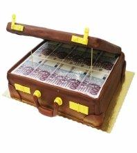 №3453  Торт чемодан денег