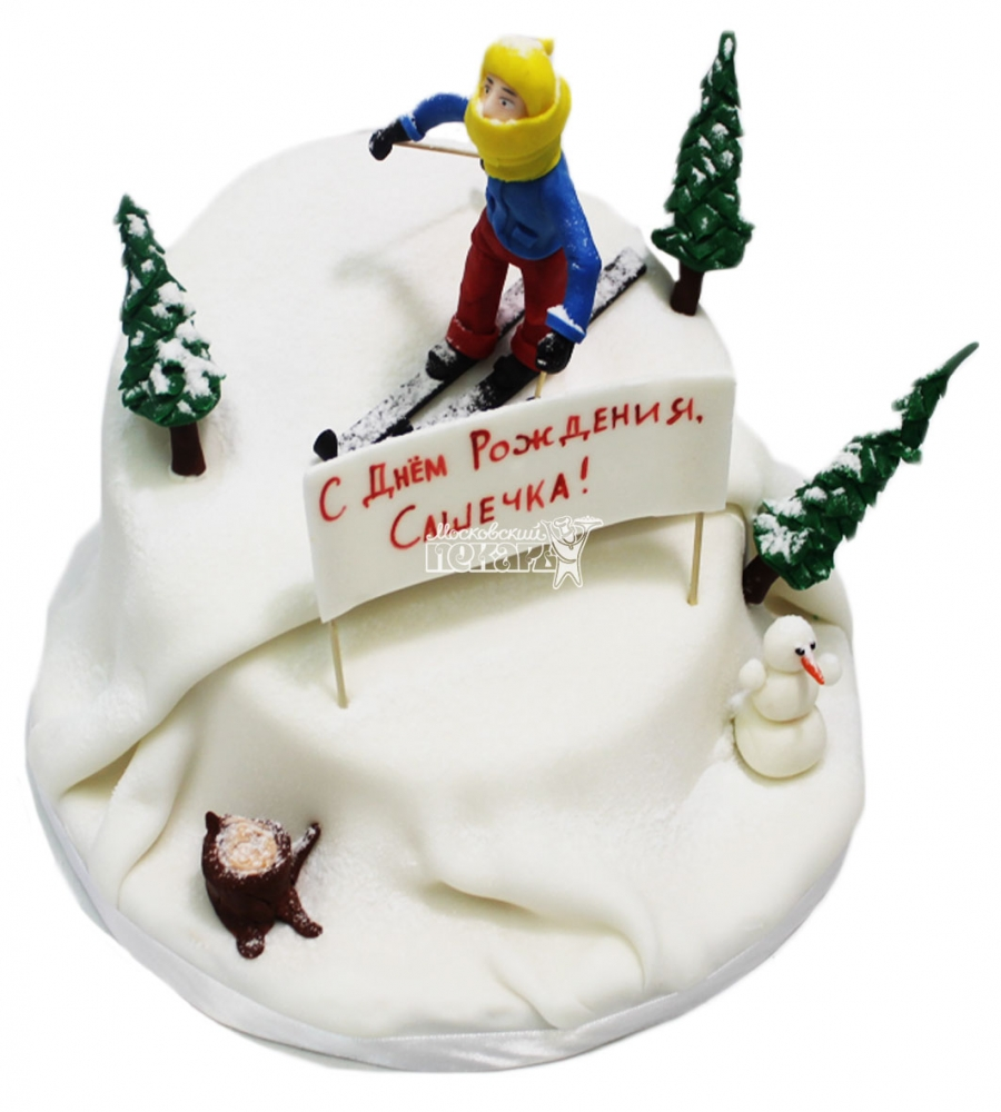 №3463 Торт Лыжнику