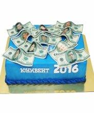 №3469 Корпоративный торт для ЮНИВЕНТ
