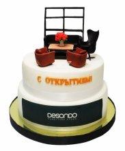 №3470 Корпоративный торт для DESONDO
