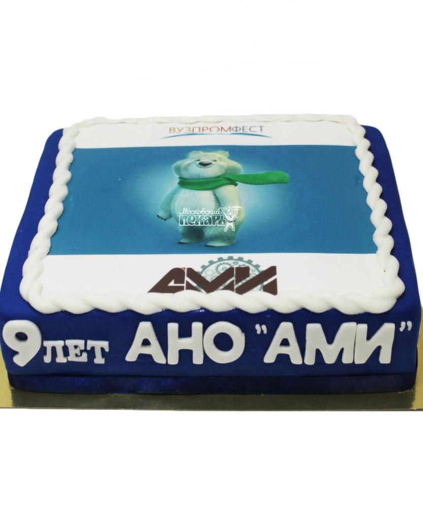 №3474 Корпоративный торт для АНО