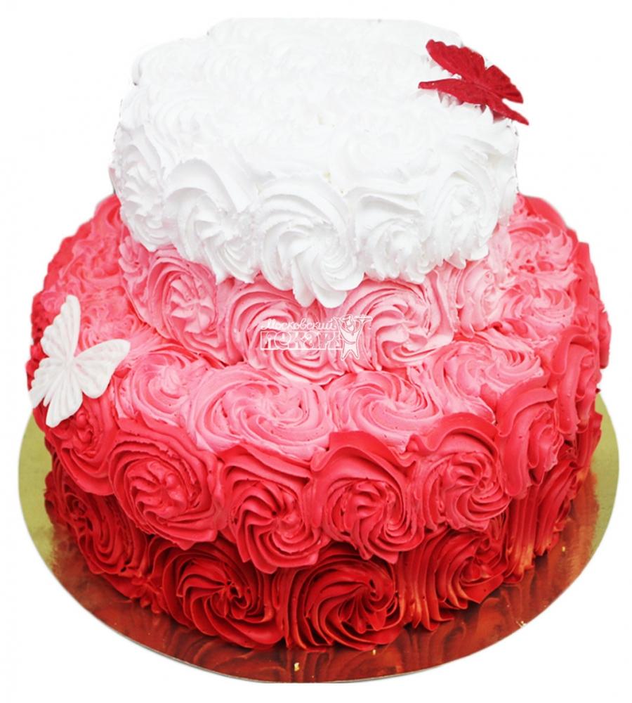 №3495 Торт из роз