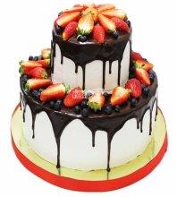 №3496 Торт с ягодами