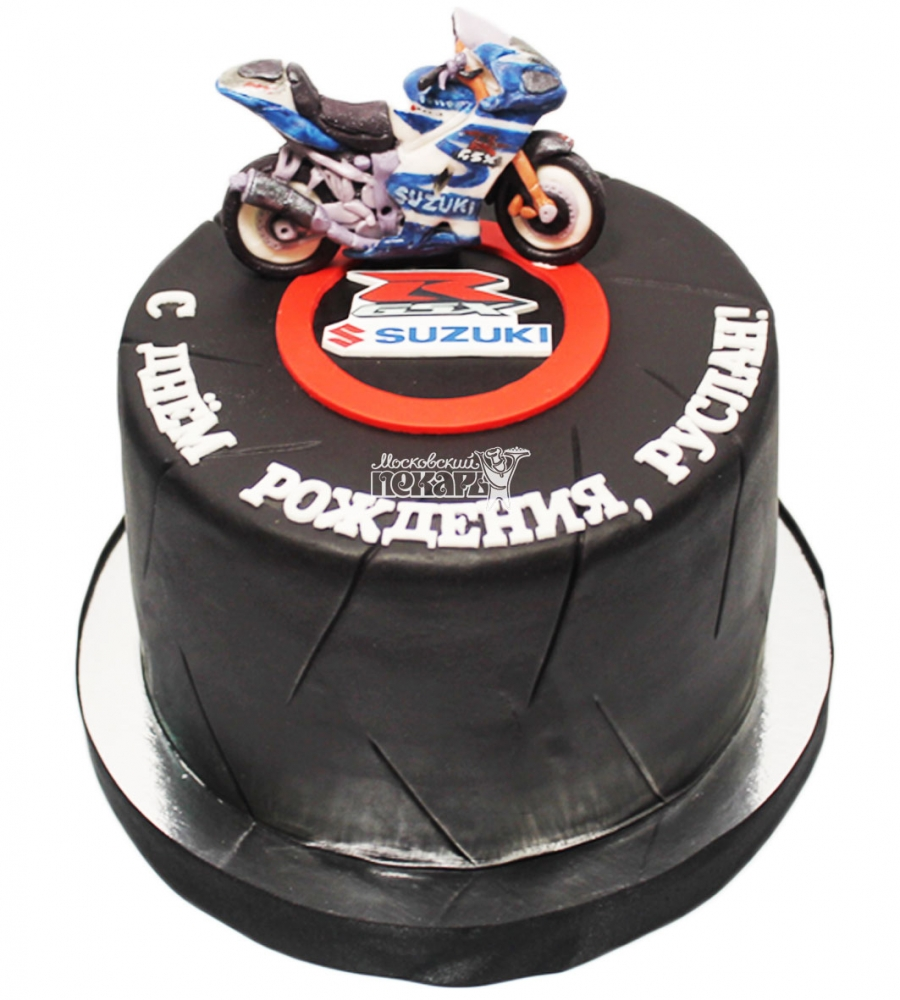 №3500 Торт мотоцикл