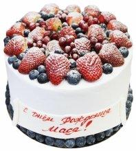 №3506 Торт с ягодами