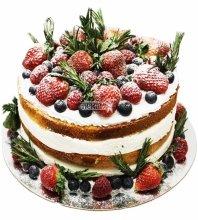 №3511 Торт с ягодами
