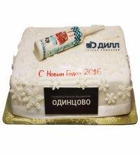 №3516 Корпоративный торт для ГК ДИЛЛ