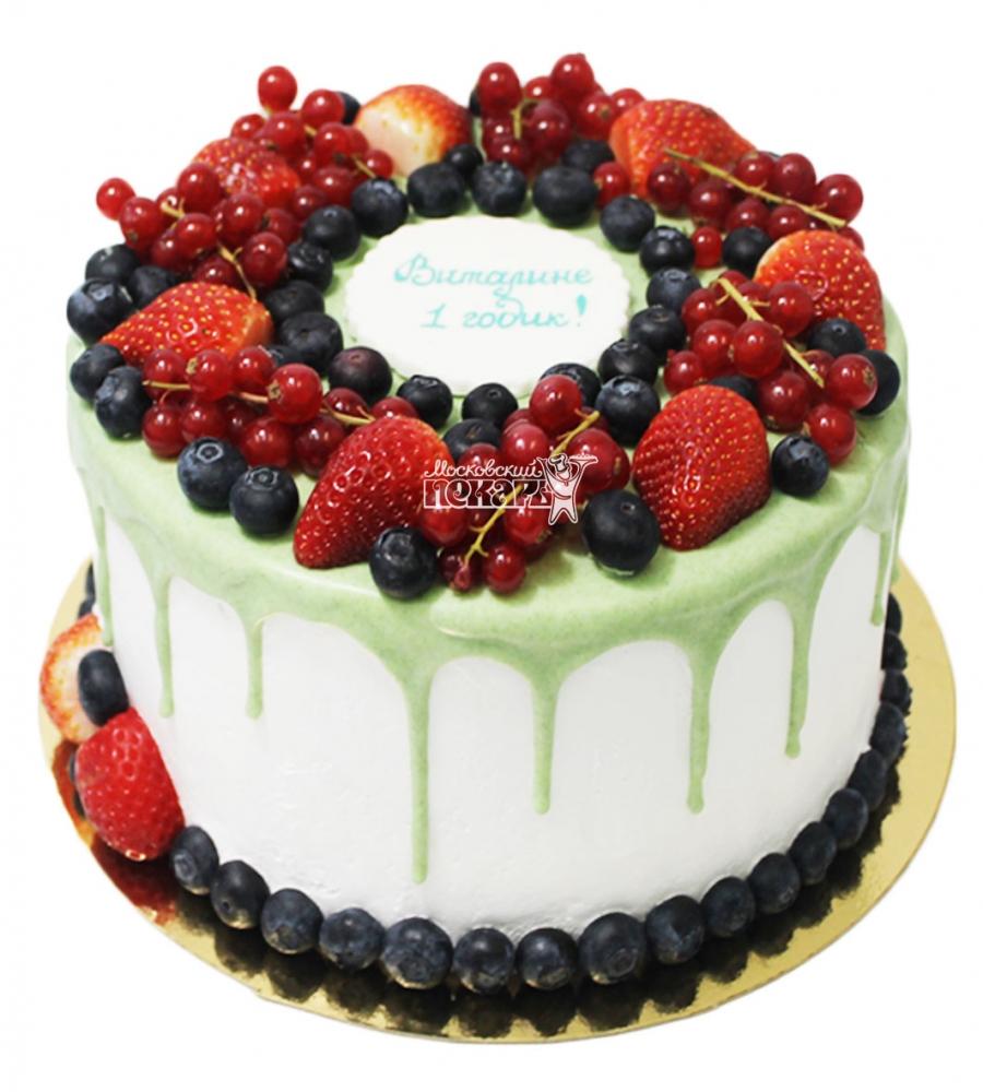 №3523 Торт с ягодами