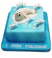 №3533 Торт Морской Котик
