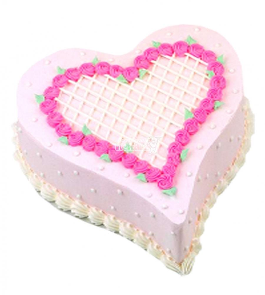 №3544 Торт на 14 февраля