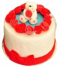 №3550 Торт на 14 февраля