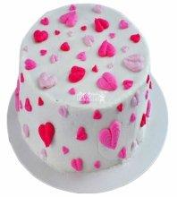 №3552 Торт на 14 февраля