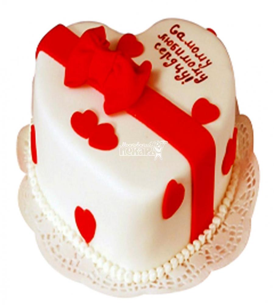 №3553 Торт на 14 февраля