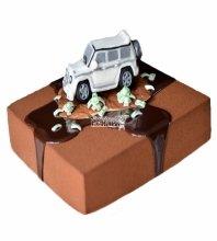 №3569 Велюровый (бархатный) торт