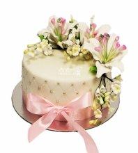 №3571 Торт с цветами