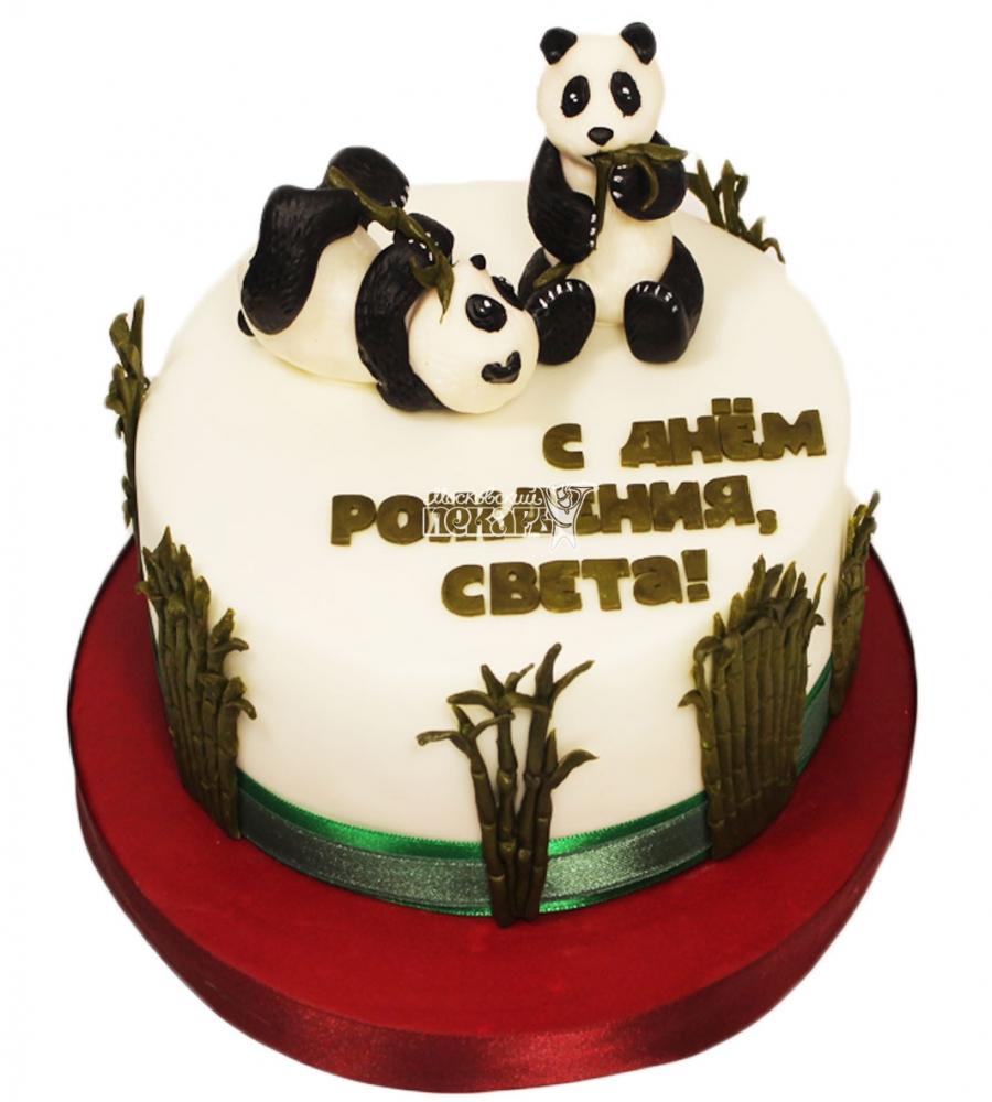 №3573 Торт с пандами