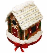 №3580 3D Торт пряничный домик для PERFECT MOUSSE