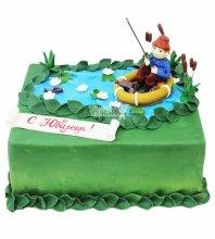 №3584 Торт рыбаку