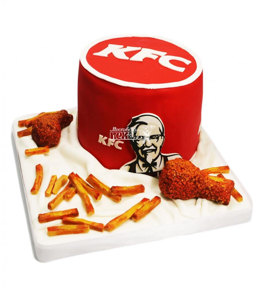№3597 Корпоративный торт для KFC