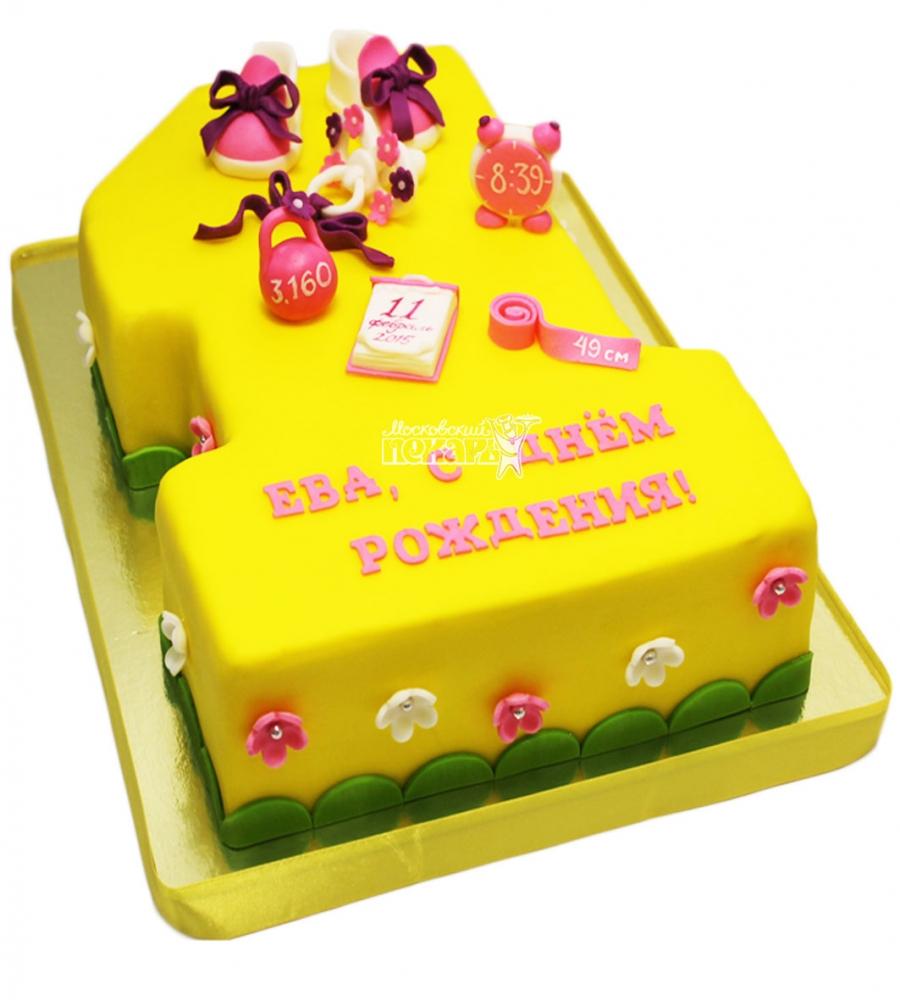 №3610 Торт на 1 годик