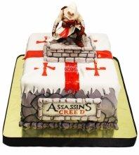 №3612 Торт Assassins Creed