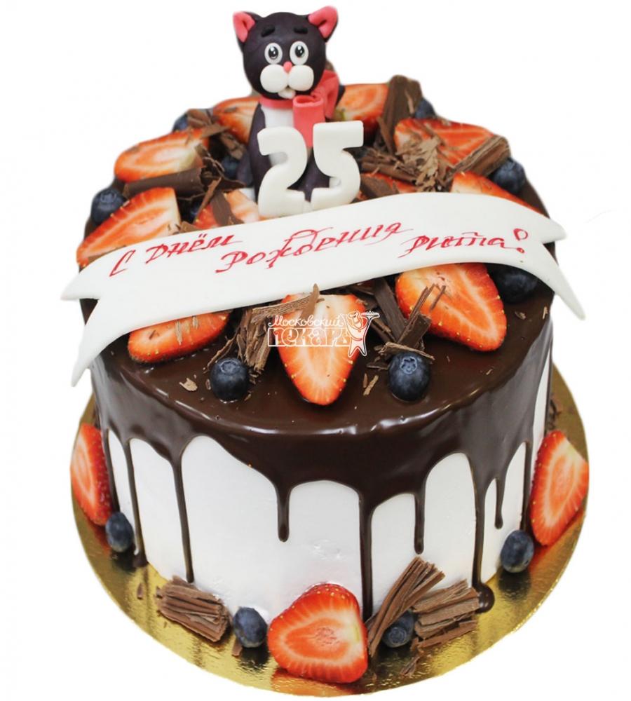 №3618 Торт с кошкой