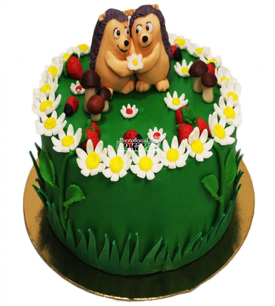 №3622 Торт с ежиками