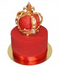 №3629 Велюровый торт Корона
