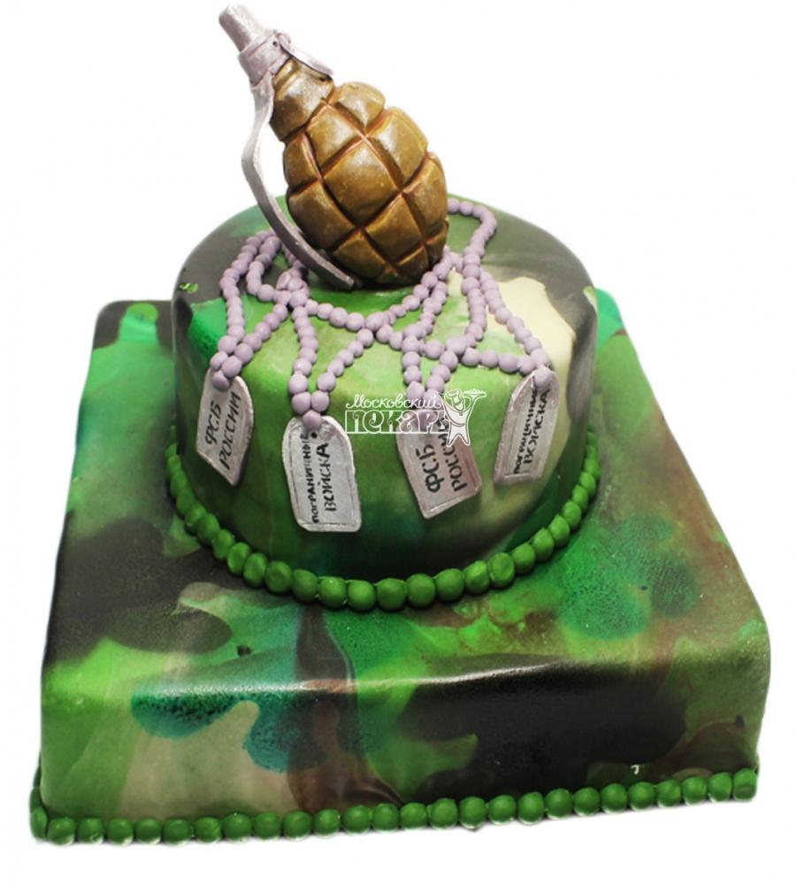 №3632 Торт военному