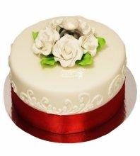 №3636 Небольшой свадебный торт