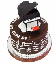 №3646 Торт пианино