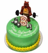 №3658 Торт Медведь