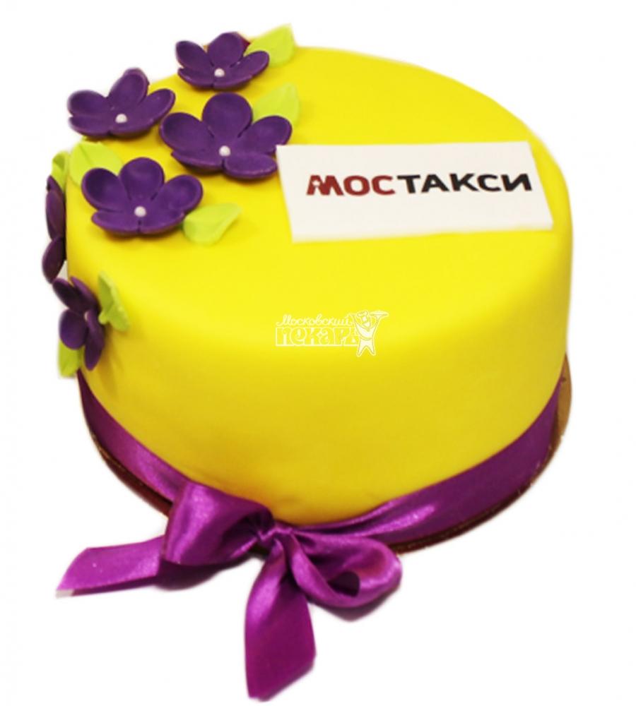 №3673 Корпоративный торт для МОСТАКСИ