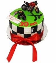 №3674 Торт с мотоциклом