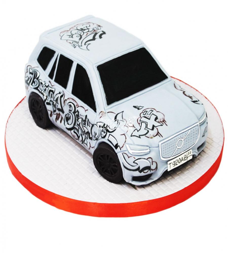 №3702 3D Торт Вольво