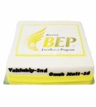 """№3713 Корпоративный торт для """"BEP"""""""