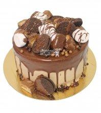 №3716 Торт со сладостями