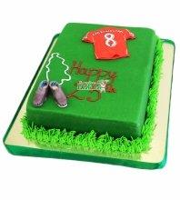 №3717 Торт футбольная форма